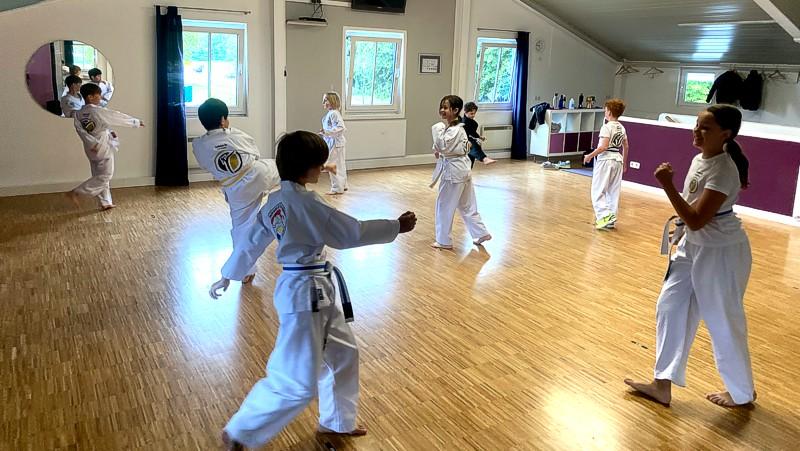 koreanisches Karate für Kinder in Grassau und Übersee
