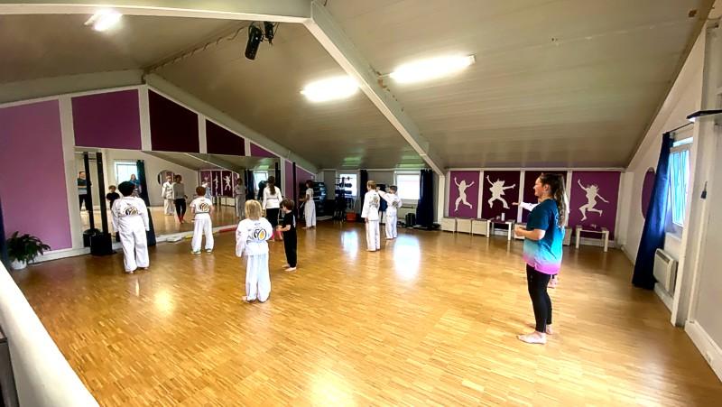 traditionelles koreanisches Karate für Kinder