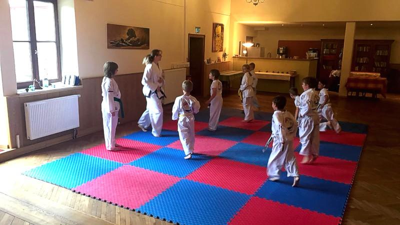 Kinder-Karate in Trostberg, Kirchweihdach und Garching an der Alz