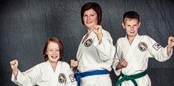traditionelle koreanische Kampfkunst als Familienerlebnis